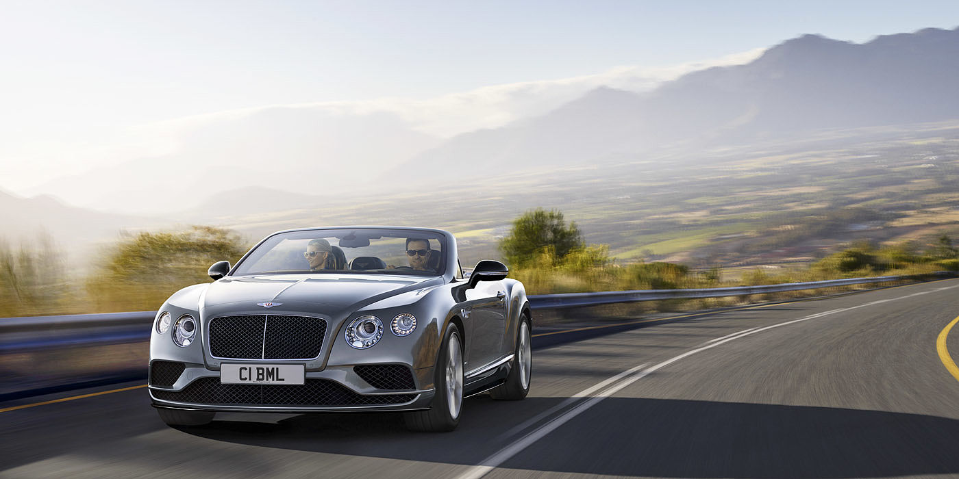 Bentley Continental GT V8 S Convertible - used cars for sale - La Jolla